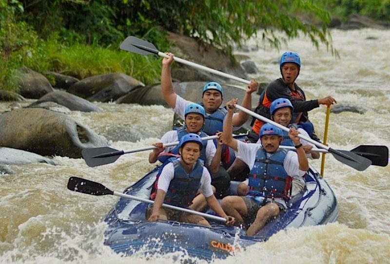 Rafting 9 KM Citarik River Sukabumi Plus Accommodation