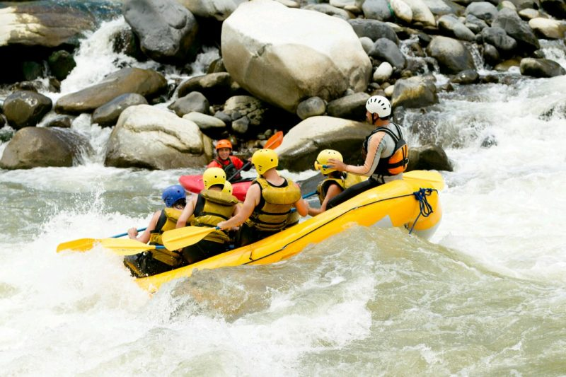 Rafting 5 KM Citarik River Sukabumi Plus Accommodation